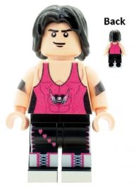 Bret The Hitman Hart Wrestler - Custom Designed Minifigure